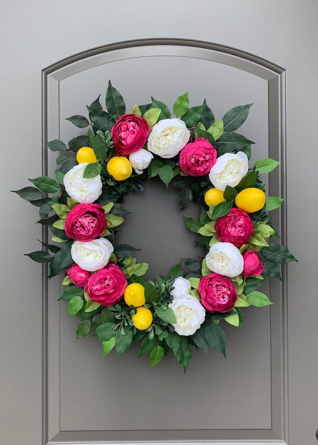 Brilliant Spring Door Wreaths Design Ideas 03