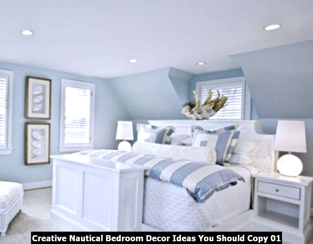 Creative Nautical Bedroom Decor Ideas You Should Copy 01