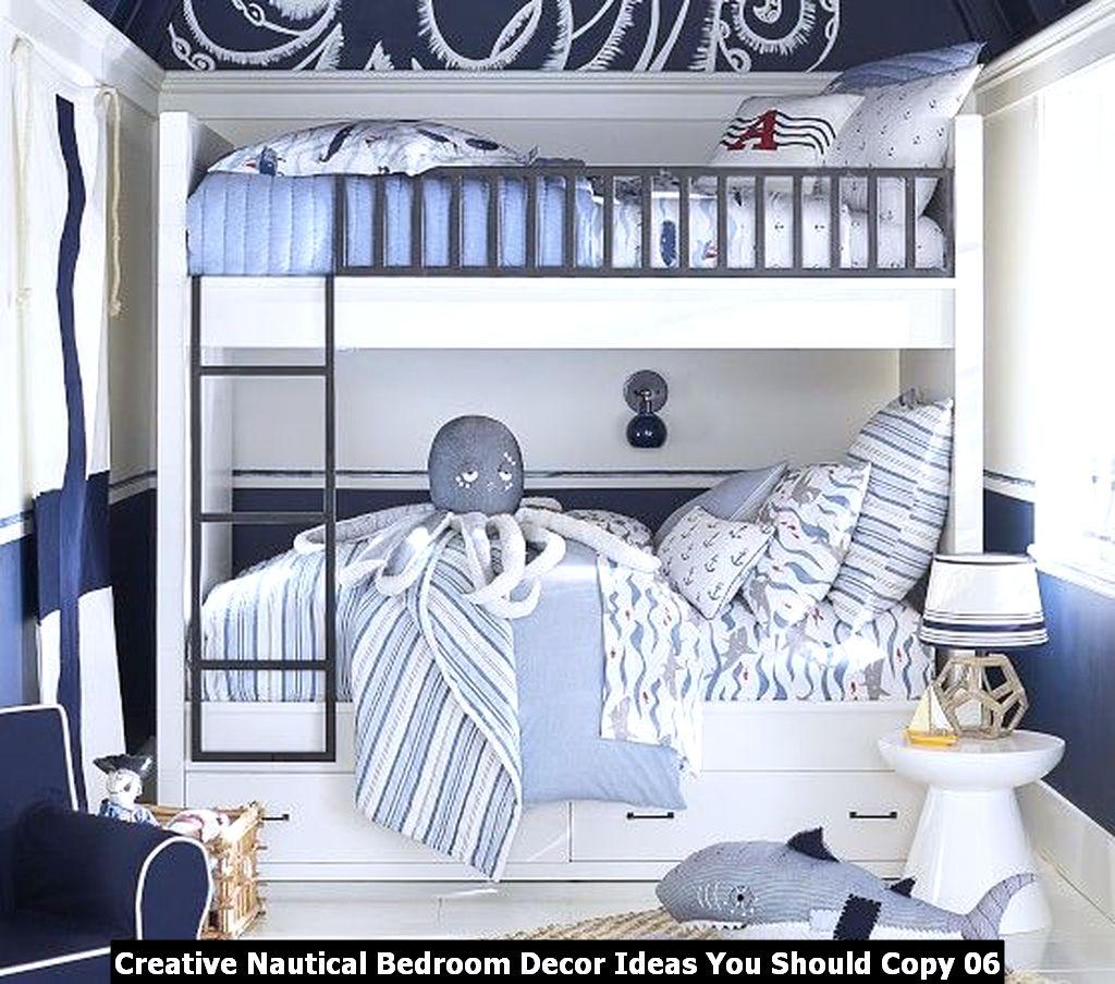 Creative Nautical Bedroom Decor Ideas You Should Copy 06