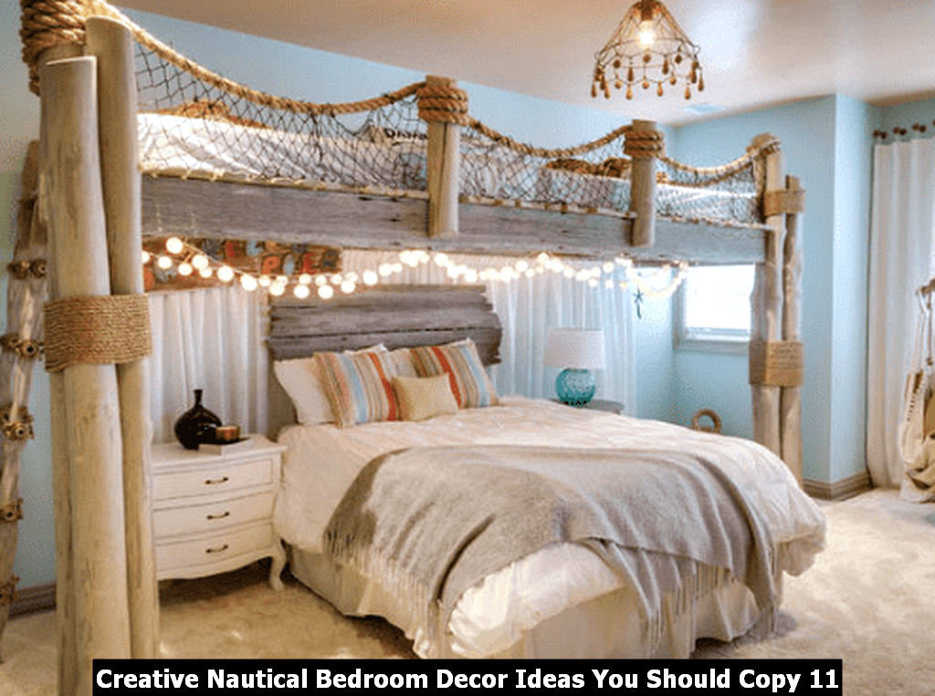 Creative Nautical Bedroom Decor Ideas You Should Copy 11
