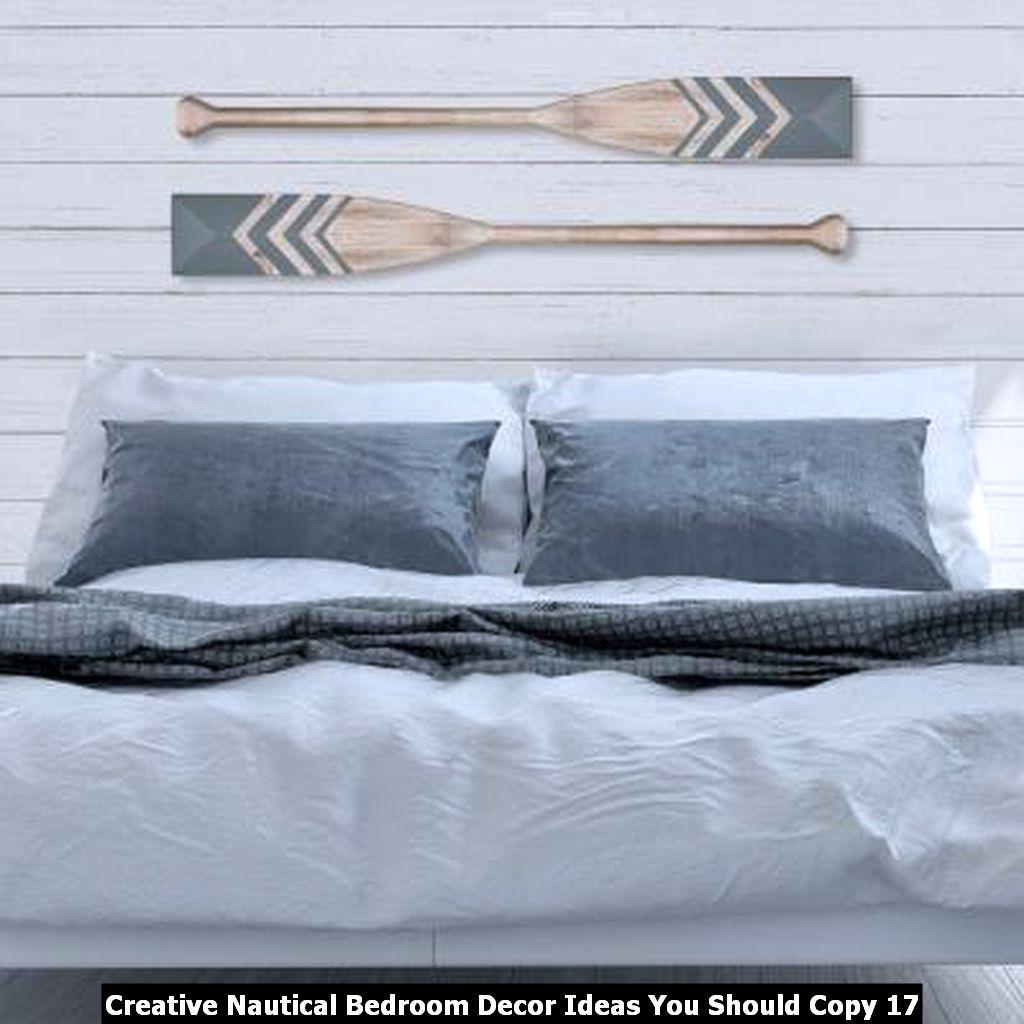 Creative Nautical Bedroom Decor Ideas You Should Copy 17