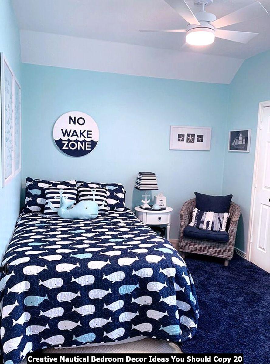 Creative Nautical Bedroom Decor Ideas You Should Copy 20