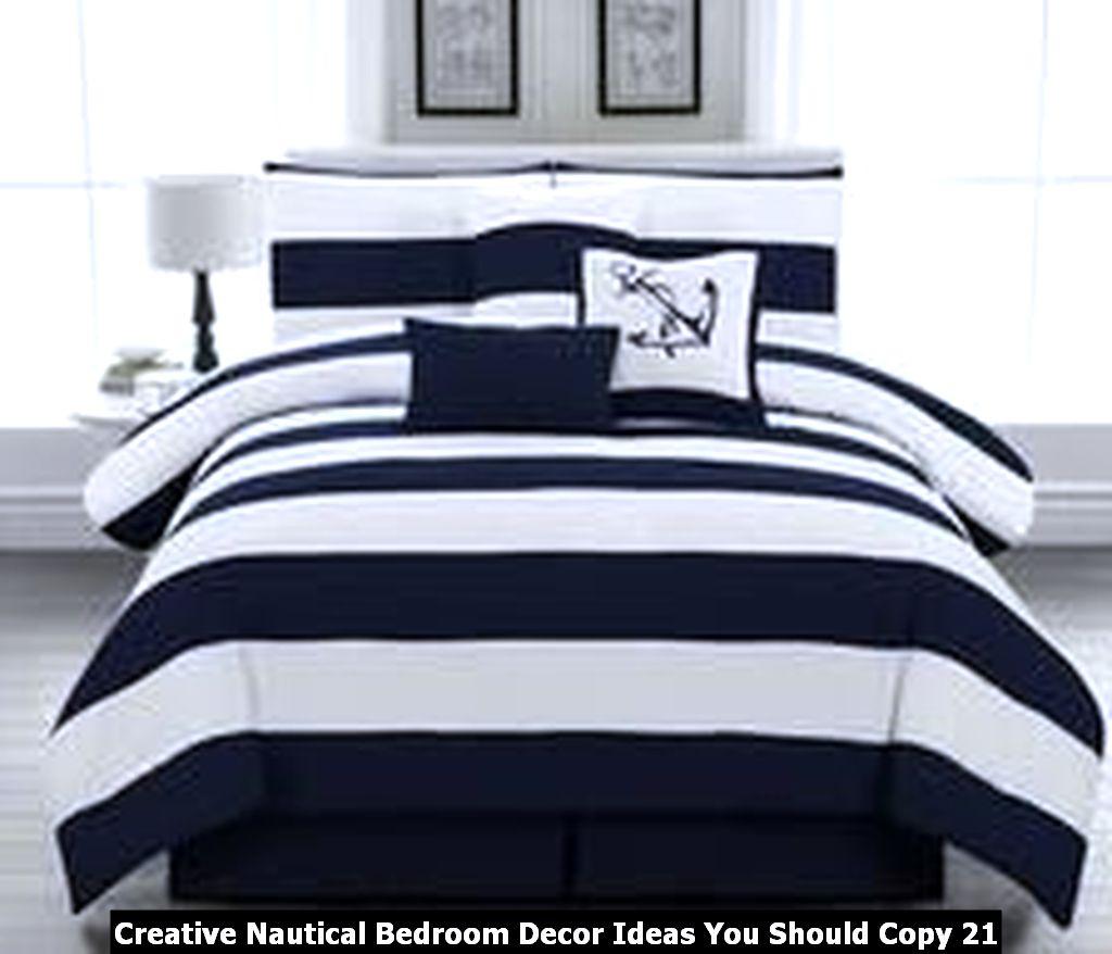 Creative Nautical Bedroom Decor Ideas You Should Copy 21
