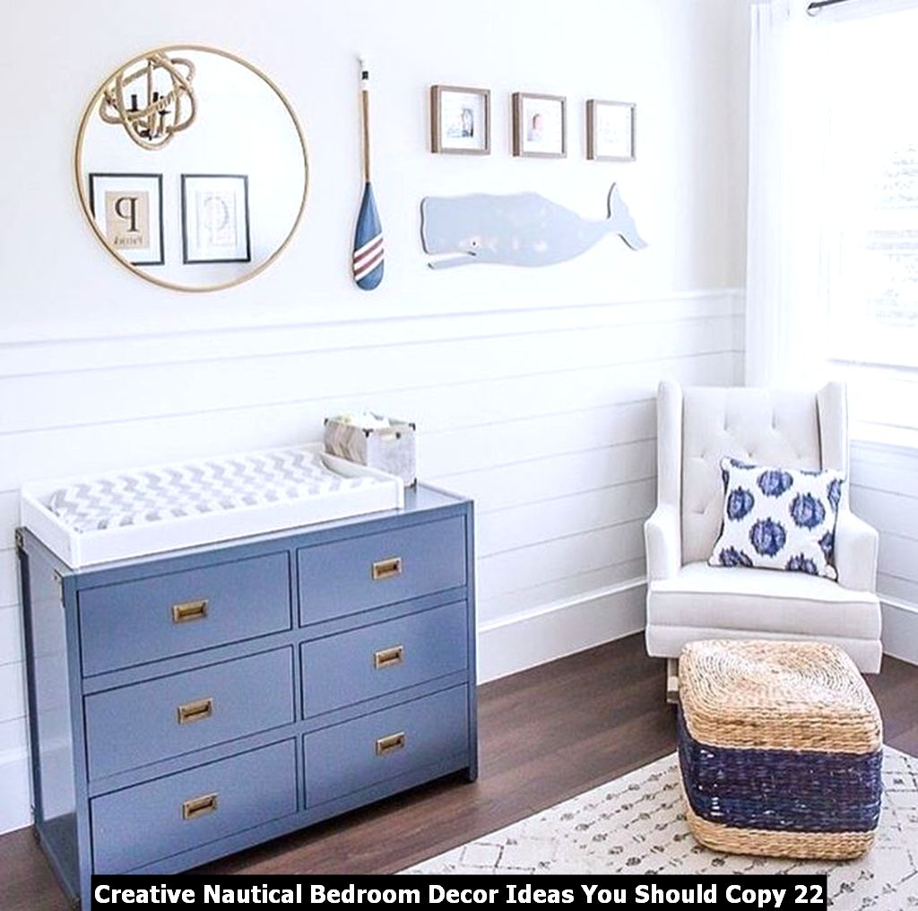 Creative Nautical Bedroom Decor Ideas You Should Copy 22