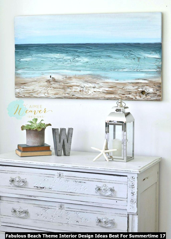 Fabulous Beach Theme Interior Design Ideas Best For Summertime 17