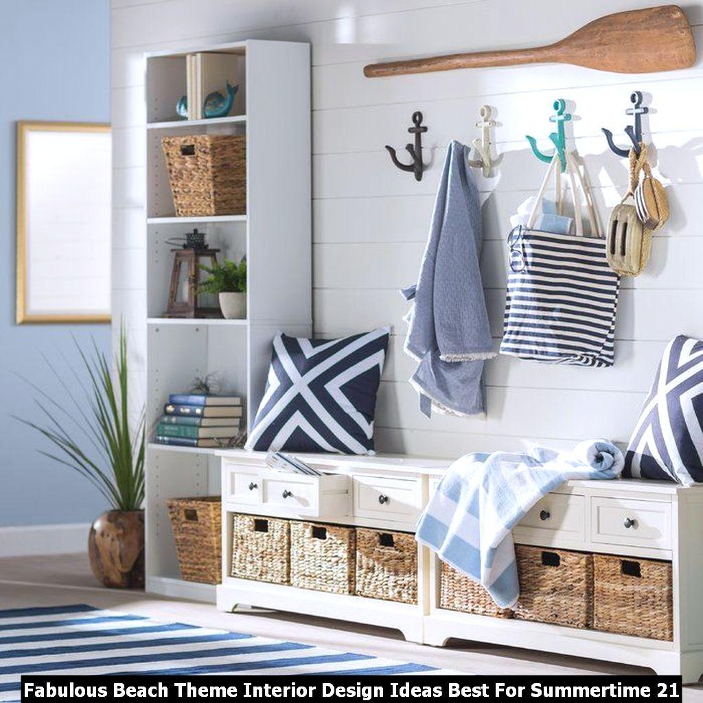 Fabulous Beach Theme Interior Design Ideas Best For Summertime 21