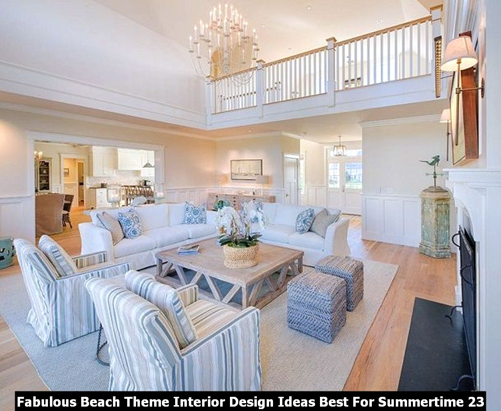 Fabulous Beach Theme Interior Design Ideas Best For Summertime 23