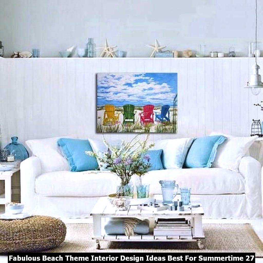 Fabulous Beach Theme Interior Design Ideas Best For Summertime 27