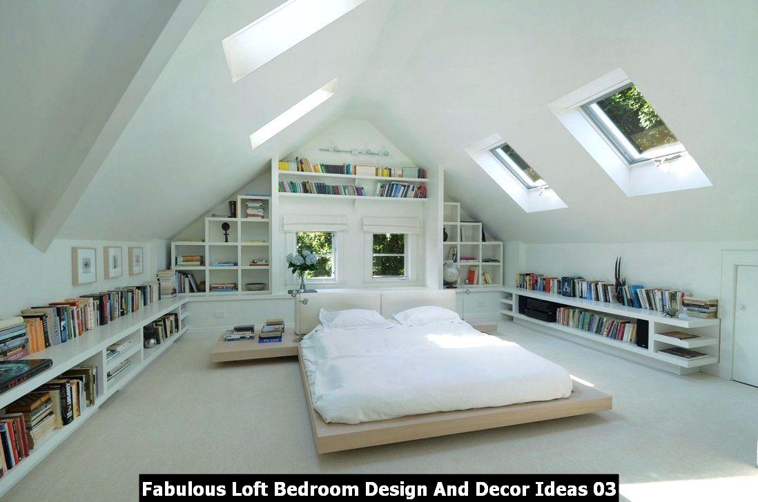 Fabulous Loft Bedroom Design And Decor Ideas 03