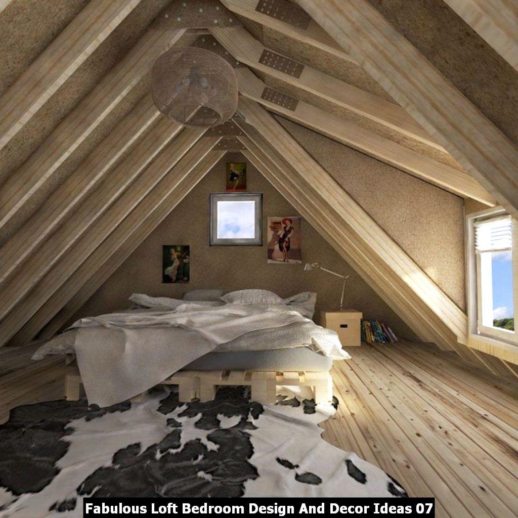 Fabulous Loft Bedroom Design And Decor Ideas 07