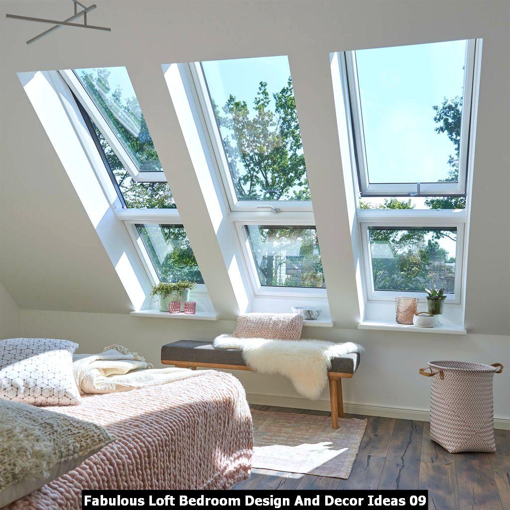 Fabulous Loft Bedroom Design And Decor Ideas 09