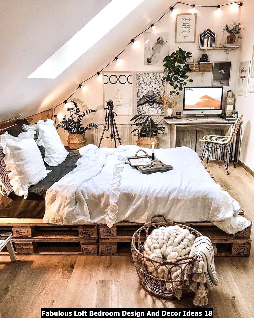 Fabulous Loft Bedroom Design And Decor Ideas 18