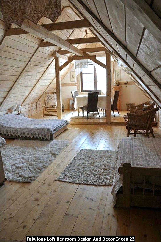 Fabulous Loft Bedroom Design And Decor Ideas 23