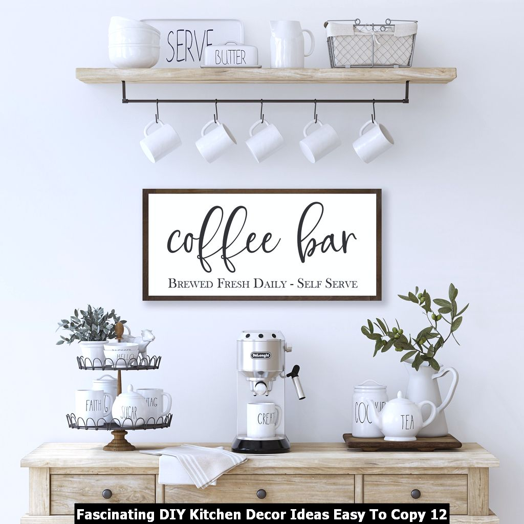 Fascinating DIY Kitchen Decor Ideas Easy To Copy 12
