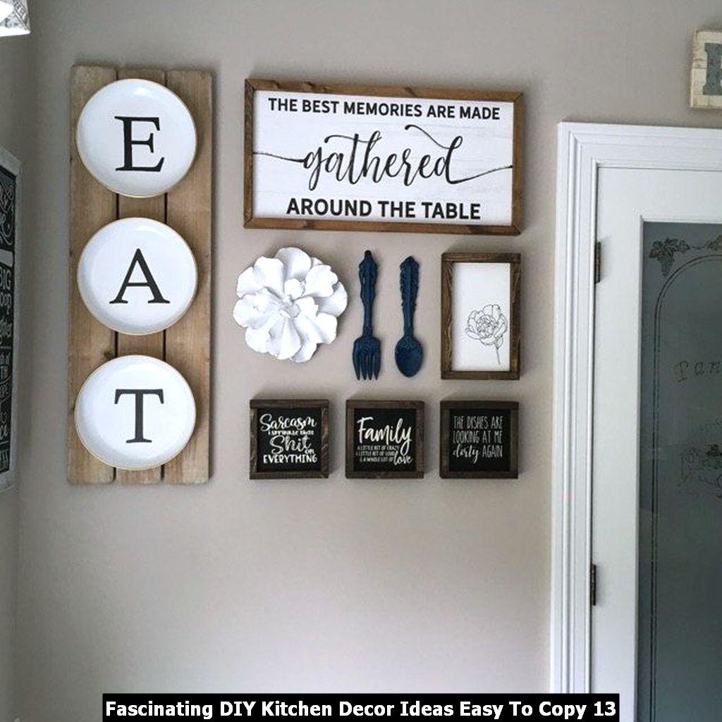 Fascinating DIY Kitchen Decor Ideas Easy To Copy 13