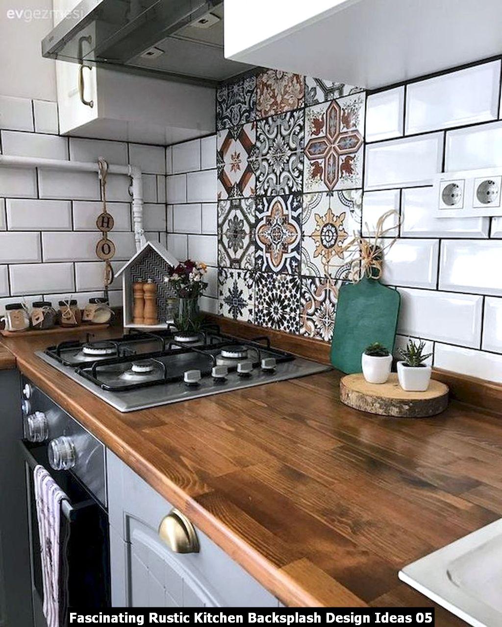 Fascinating Rustic Kitchen Backsplash Design Ideas 05