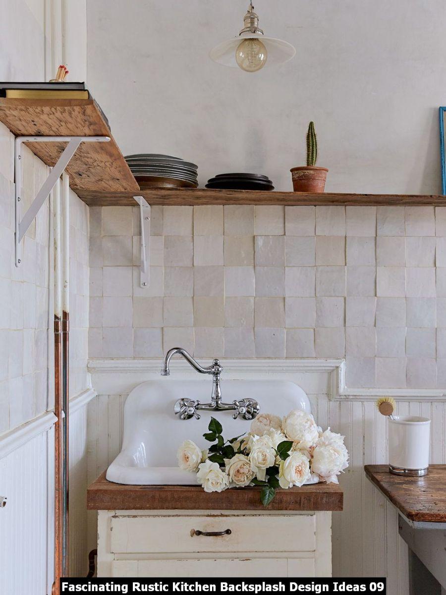 Fascinating Rustic Kitchen Backsplash Design Ideas 09