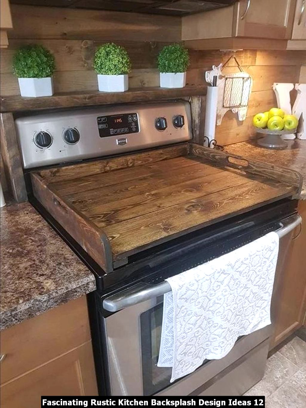 Fascinating Rustic Kitchen Backsplash Design Ideas 12
