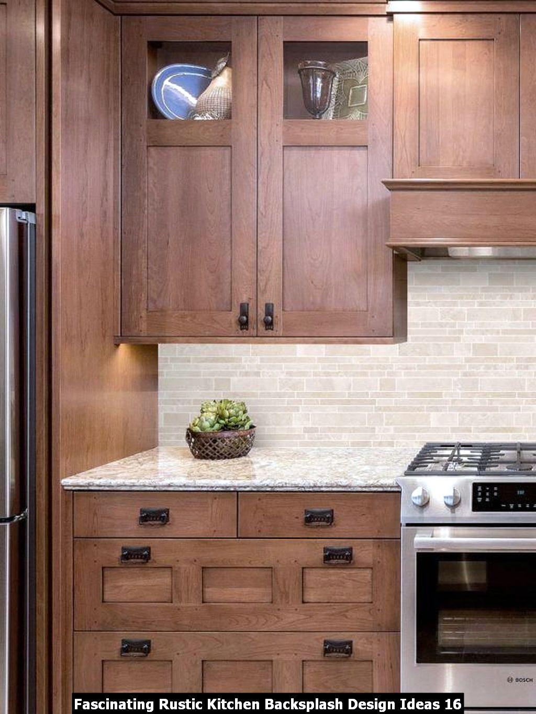 Fascinating Rustic Kitchen Backsplash Design Ideas 16