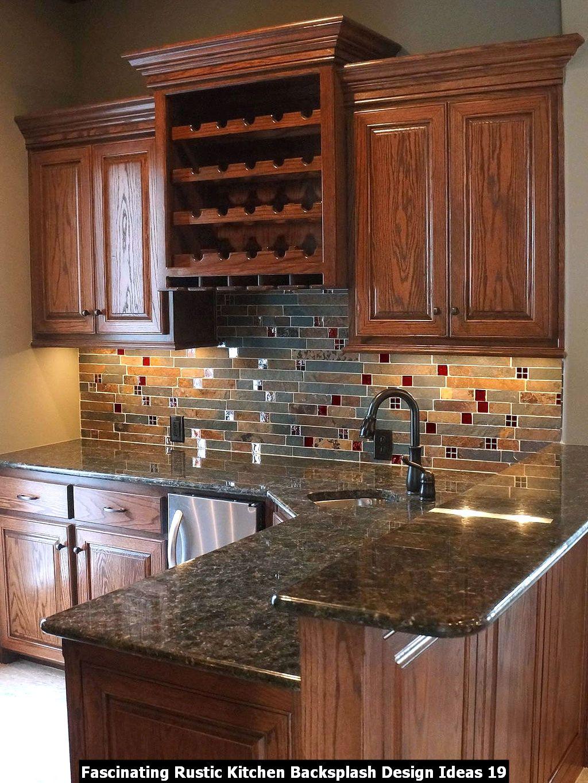 Fascinating Rustic Kitchen Backsplash Design Ideas 19