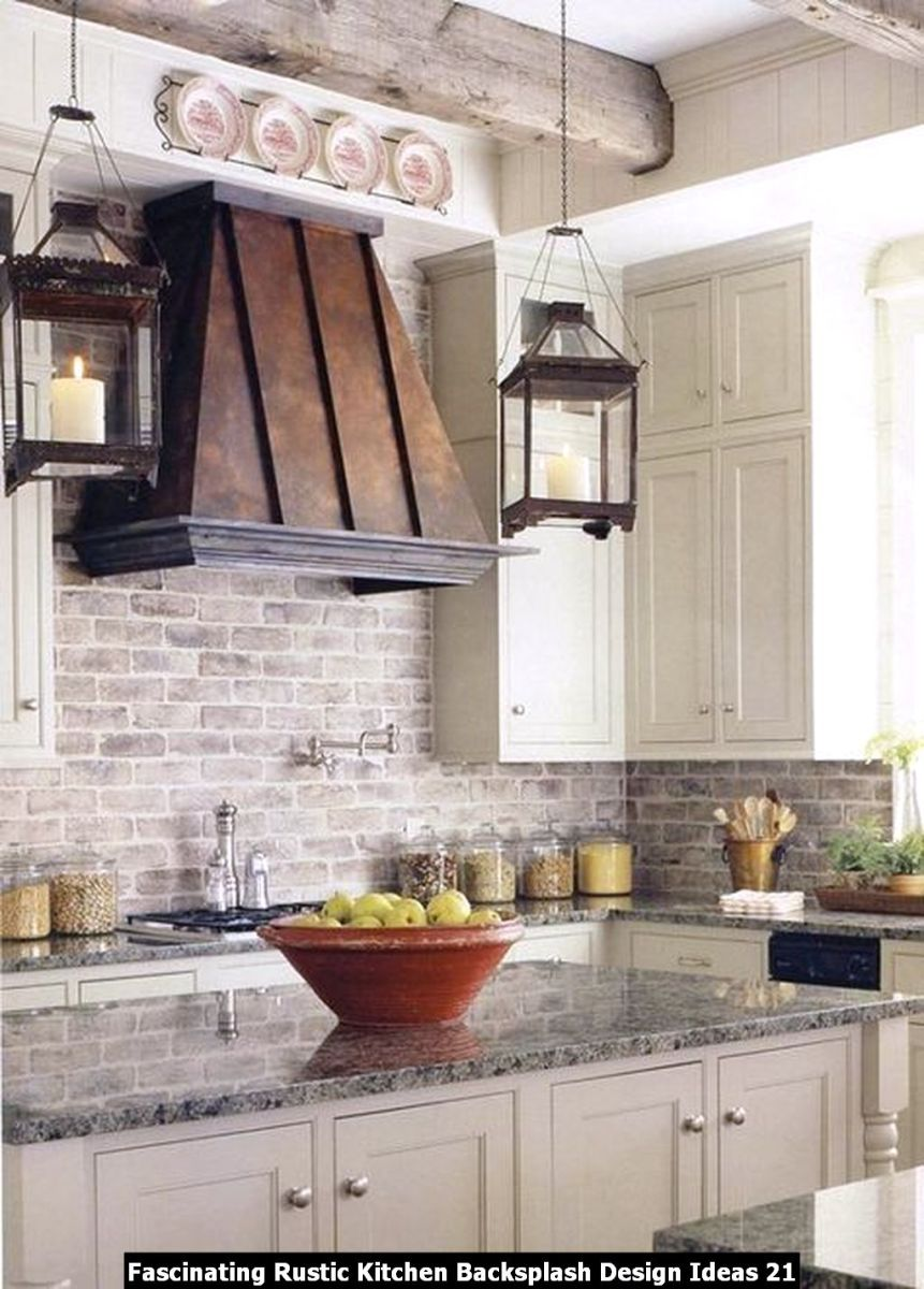 Fascinating Rustic Kitchen Backsplash Design Ideas 21