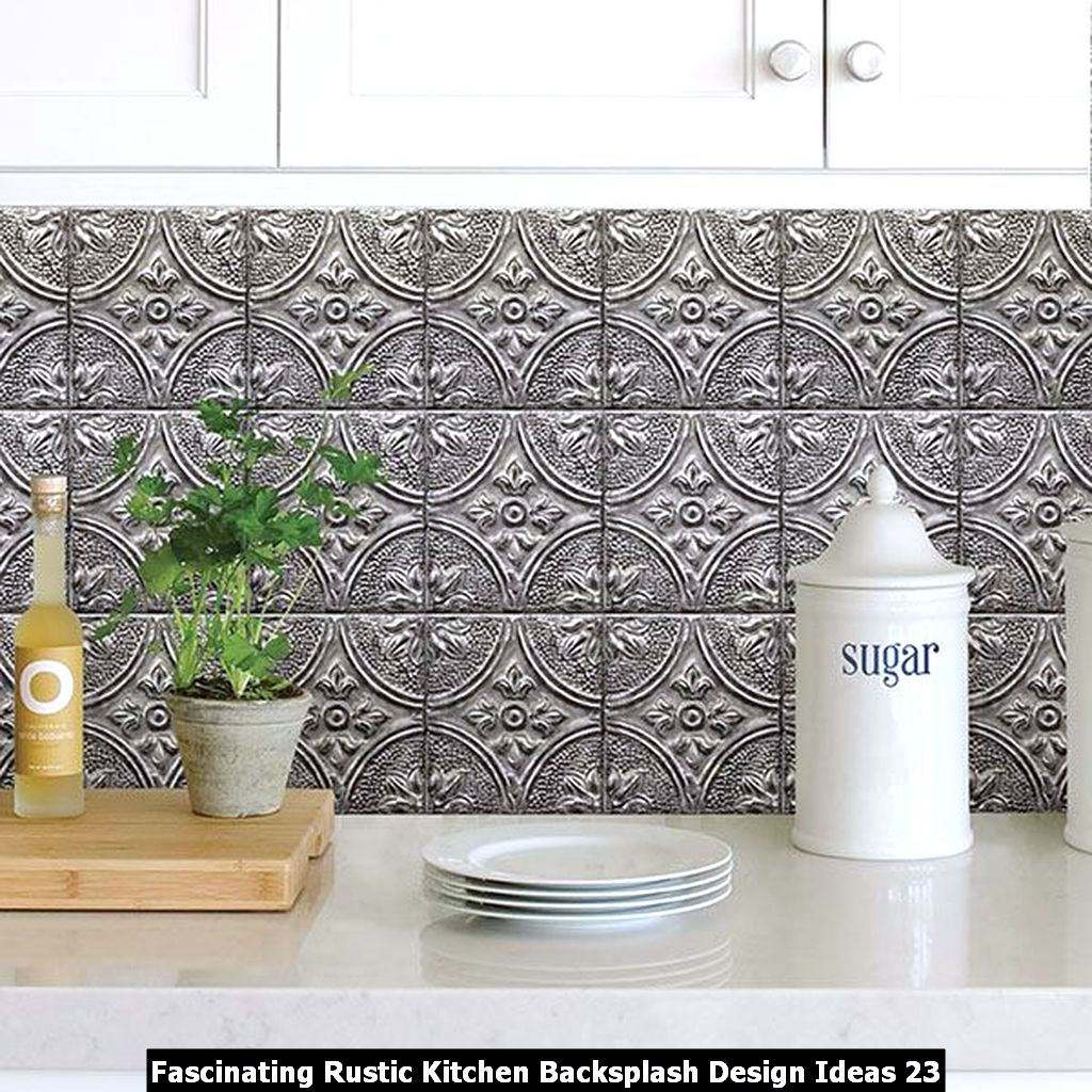 Fascinating Rustic Kitchen Backsplash Design Ideas 23
