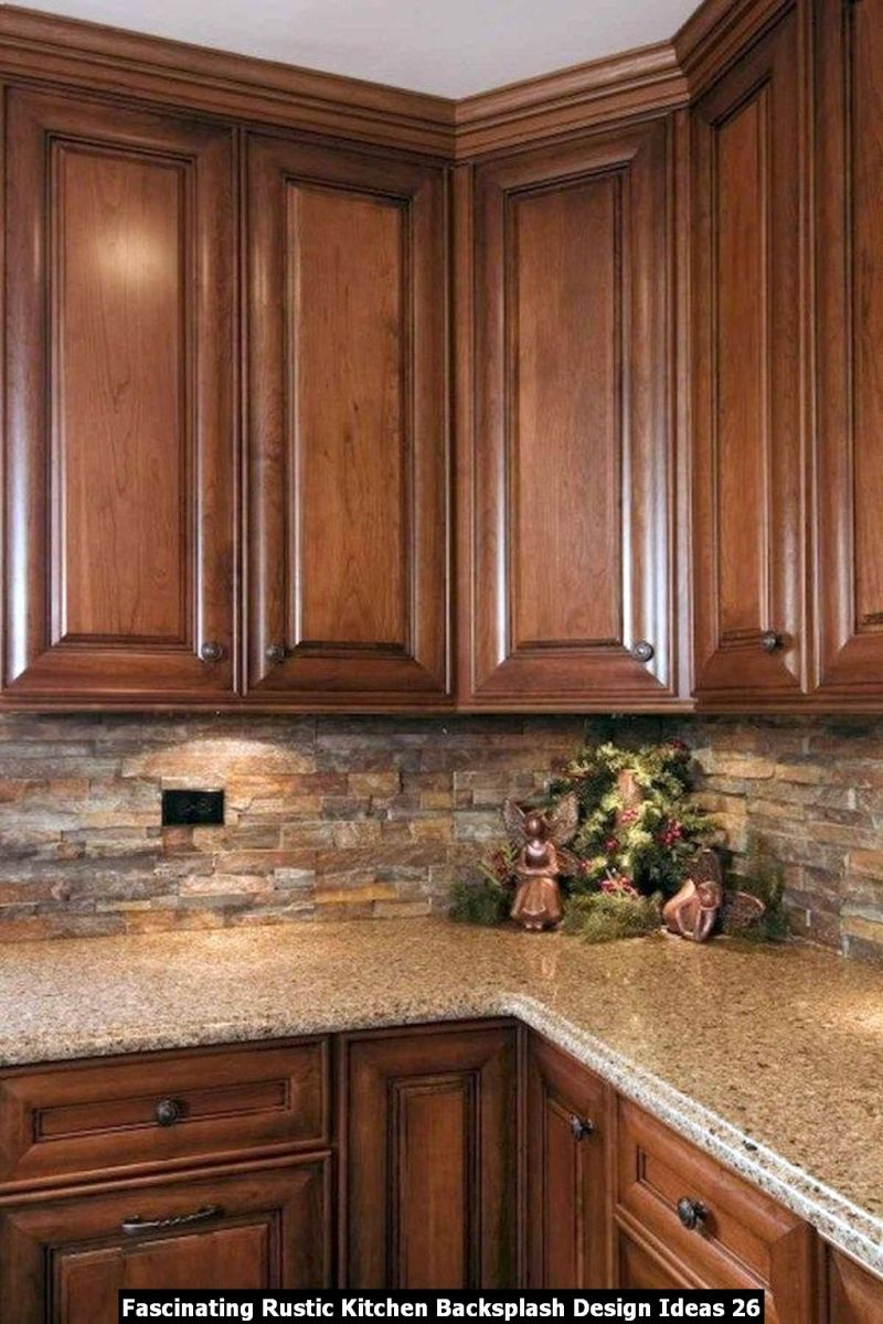 Fascinating Rustic Kitchen Backsplash Design Ideas 26