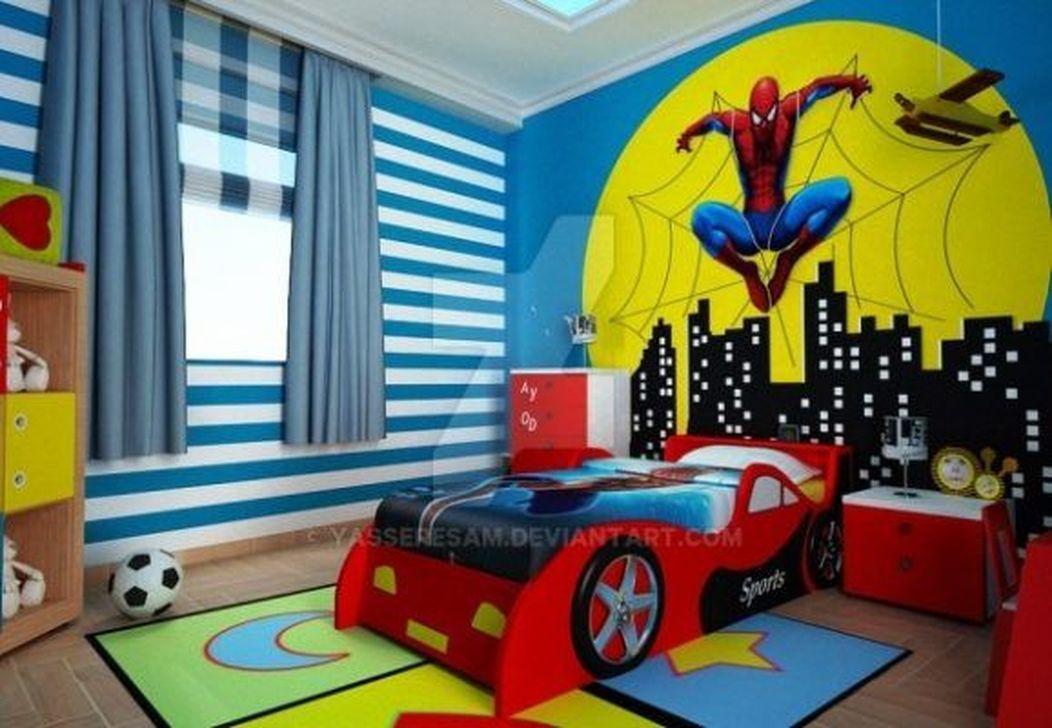 Fascinating Superhero Theme Bedroom Decor Ideas 08