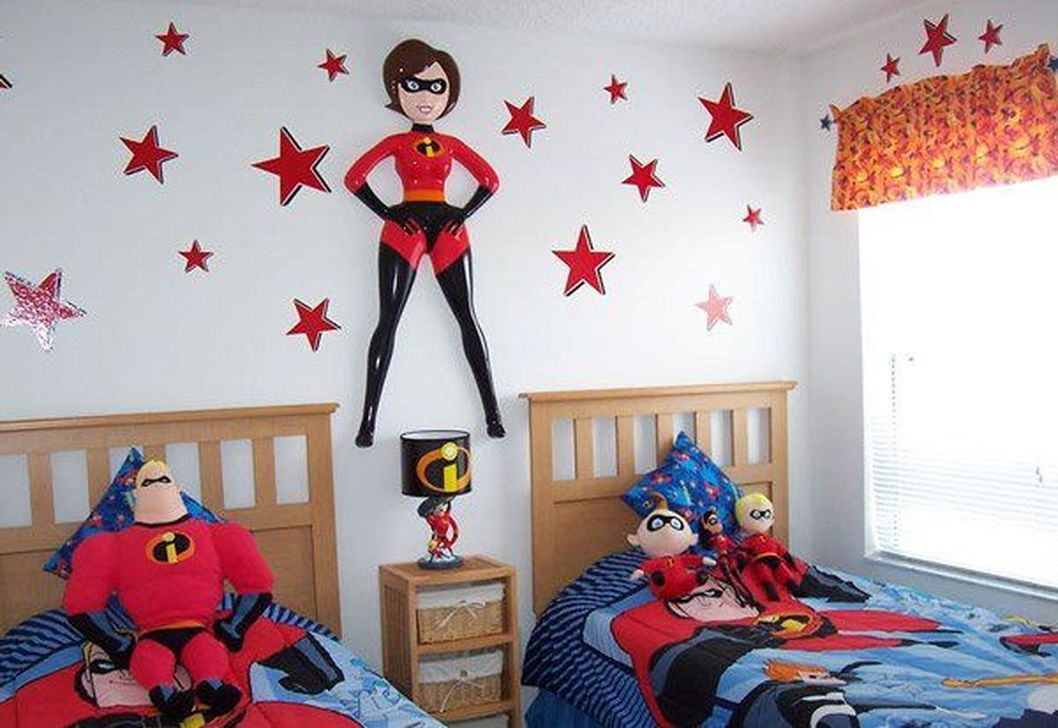 Fascinating Superhero Theme Bedroom Decor Ideas 30