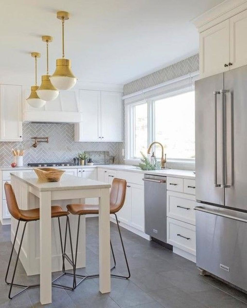 Gorgeous Small Kitchen And Dining Room Design Ideas 03