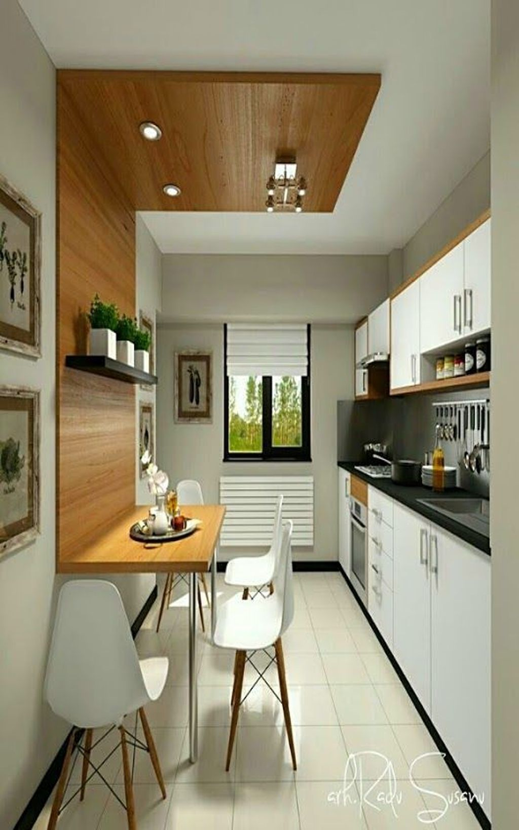 Gorgeous Small Kitchen And Dining Room Design Ideas 06