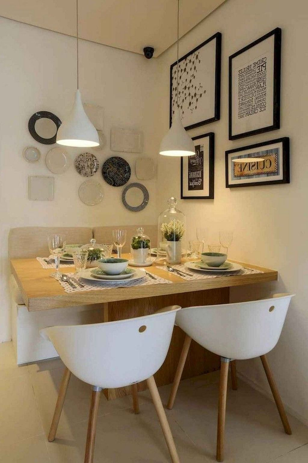 Gorgeous Small Kitchen And Dining Room Design Ideas 20