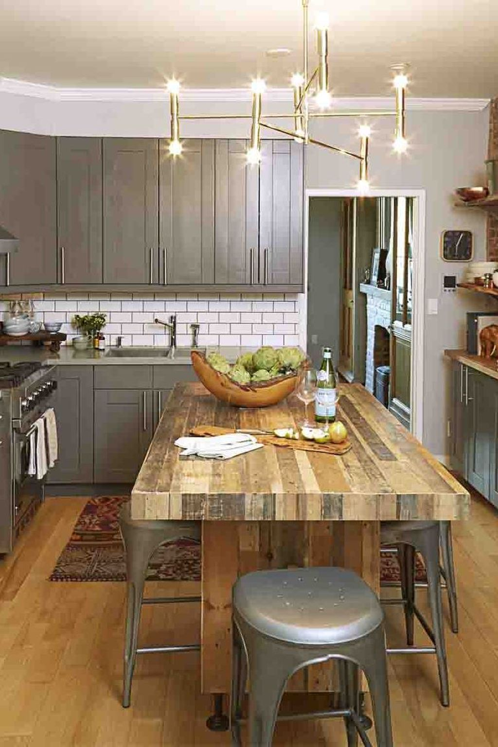 Gorgeous Small Kitchen And Dining Room Design Ideas 25