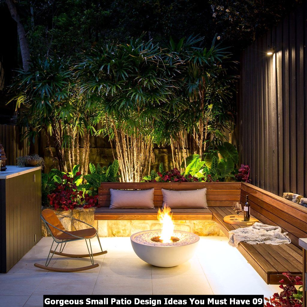 Gorgeous Small Patio Design Ideas You Must Have 09