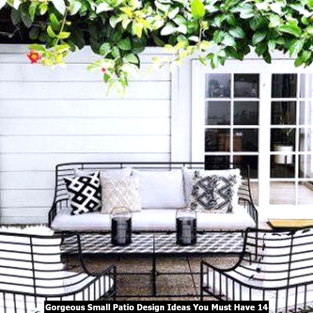 Gorgeous Small Patio Design Ideas You Must Have 14