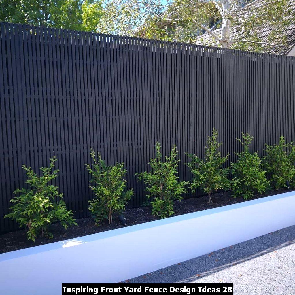 Inspiring Front Yard Fence Design Ideas 28
