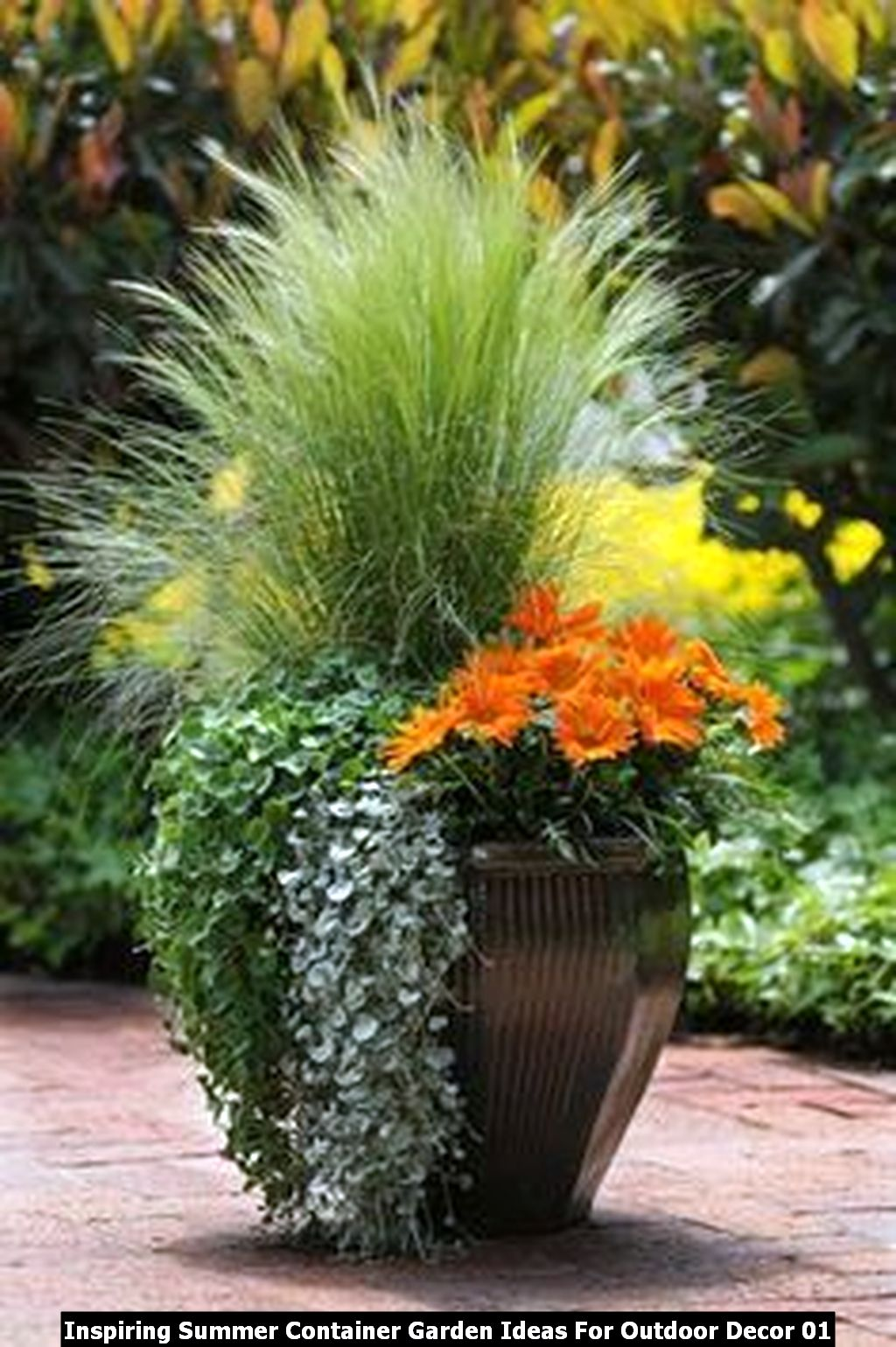 Inspiring Summer Container Garden Ideas For Outdoor Decor 01