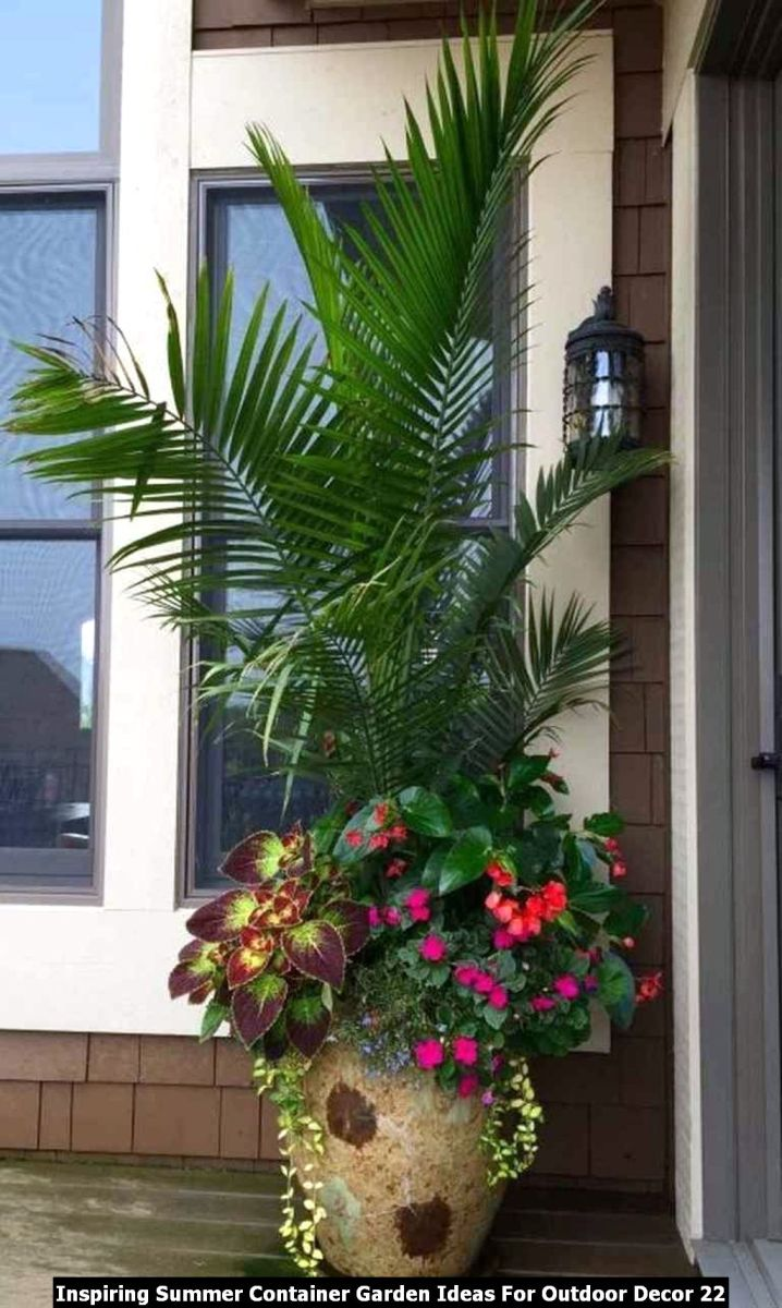 Inspiring Summer Container Garden Ideas For Outdoor Decor 22