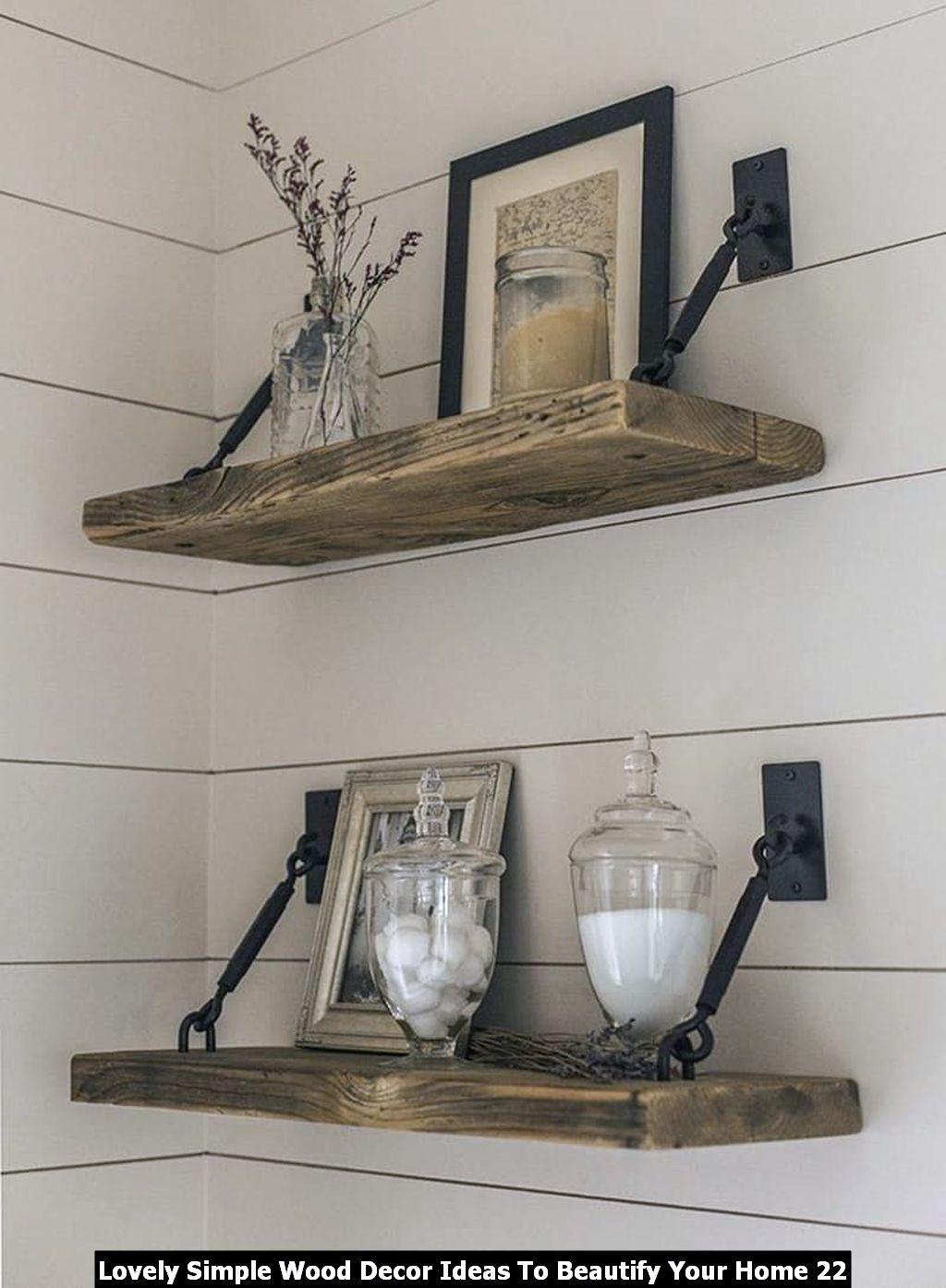 Lovely Simple Wood Decor Ideas To Beautify Your Home 22