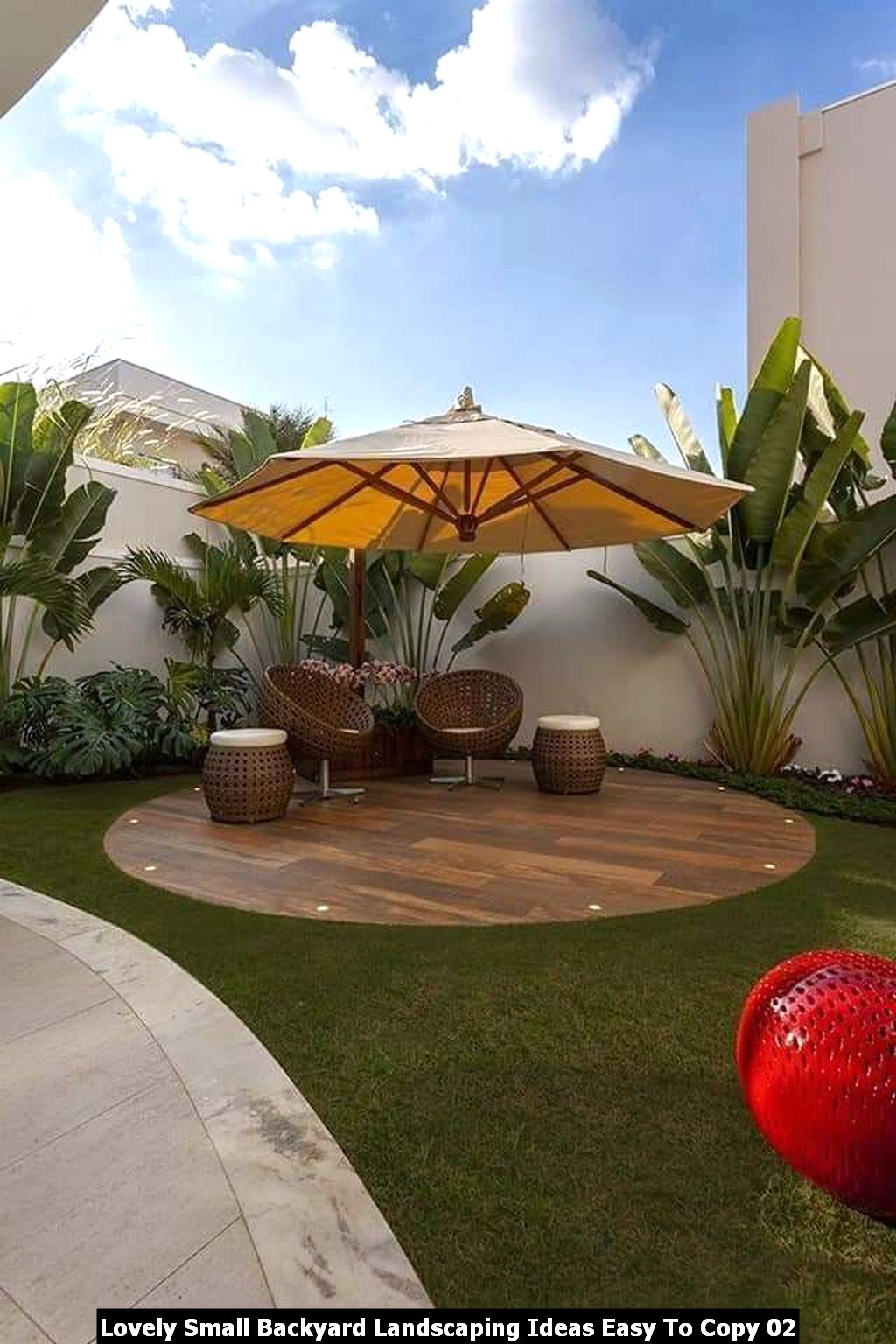 Lovely Small Backyard Landscaping Ideas Easy To Copy 02