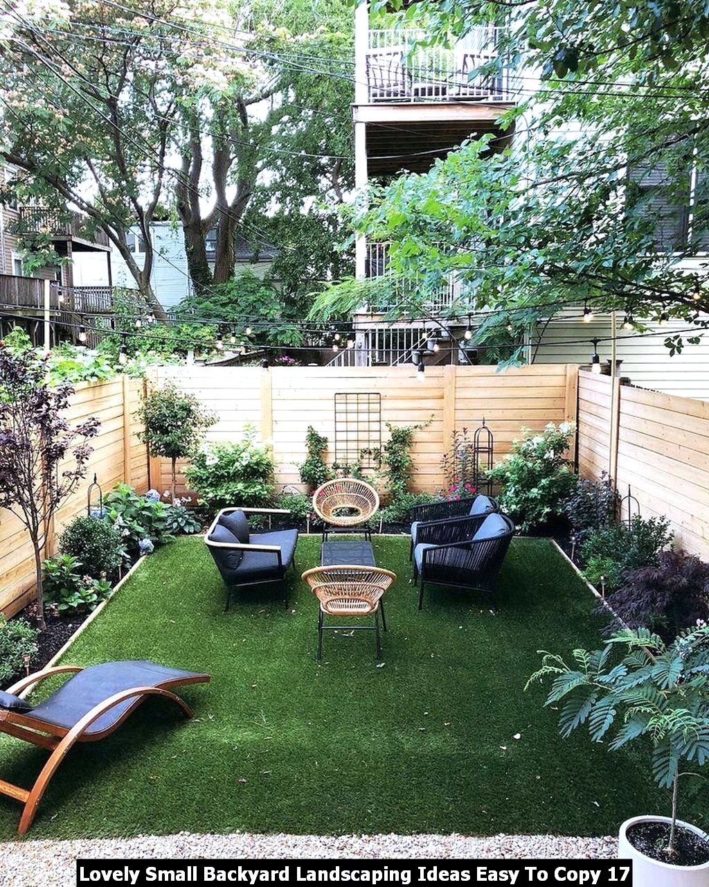 Lovely Small Backyard Landscaping Ideas Easy To Copy 17