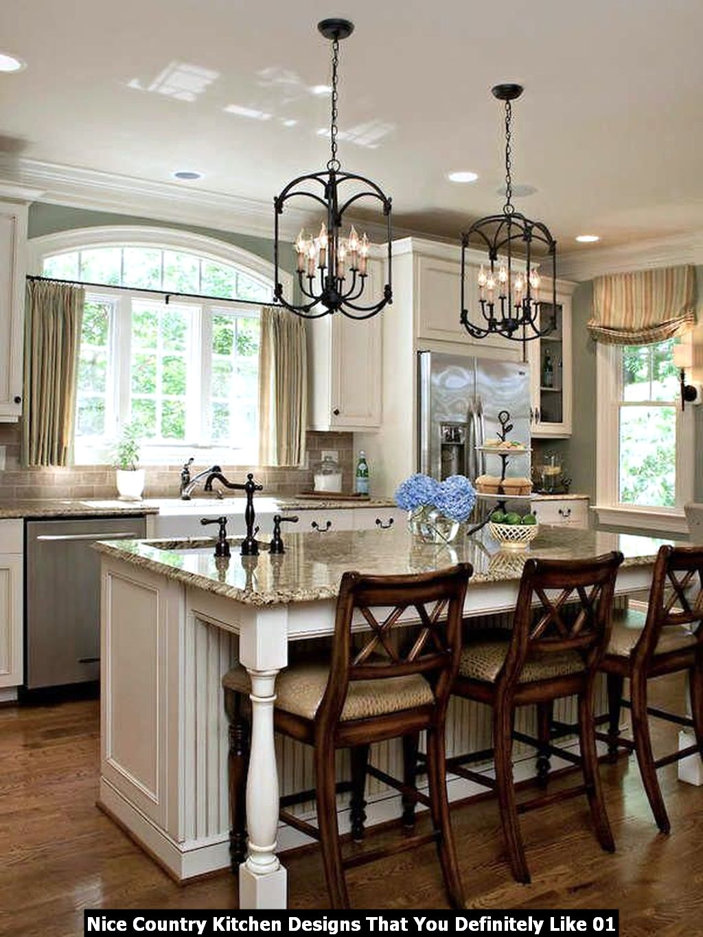 Nice Country Kitchen Designs That You Definitely Like 01