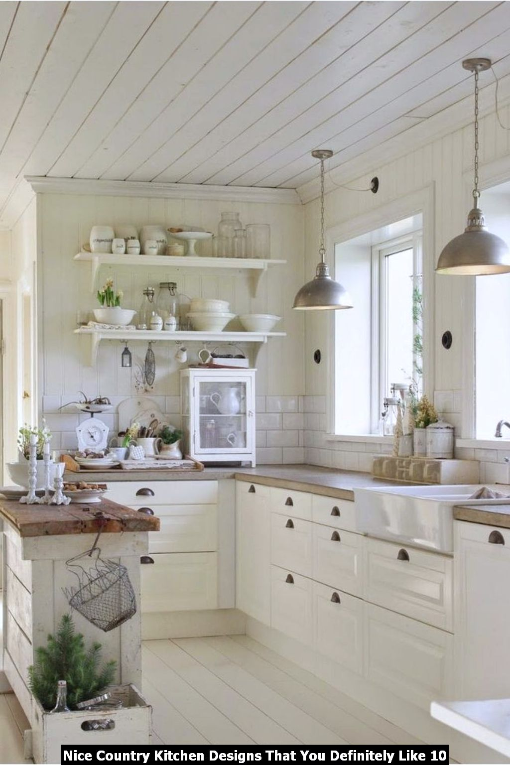 Nice Country Kitchen Designs That You Definitely Like 10