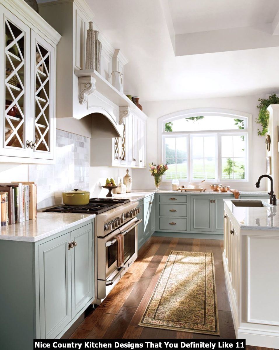 Nice Country Kitchen Designs That You Definitely Like 11