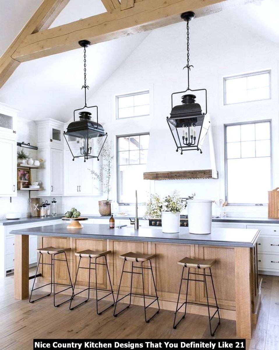 Nice Country Kitchen Designs That You Definitely Like 21