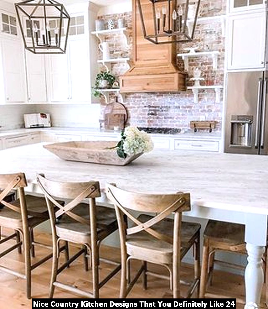 Nice Country Kitchen Designs That You Definitely Like 24