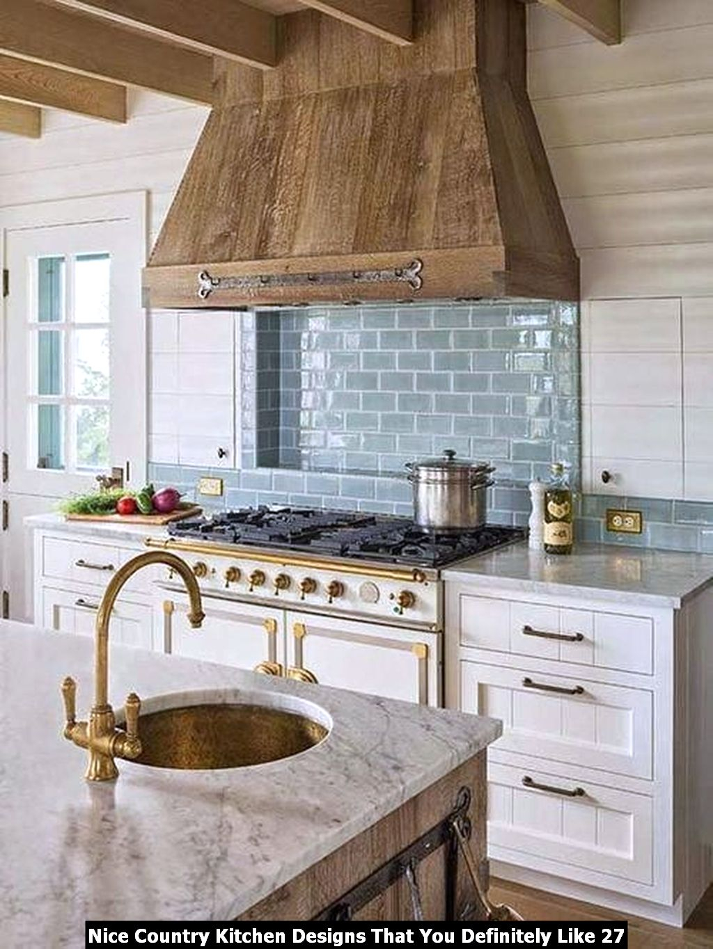 Nice Country Kitchen Designs That You Definitely Like 27