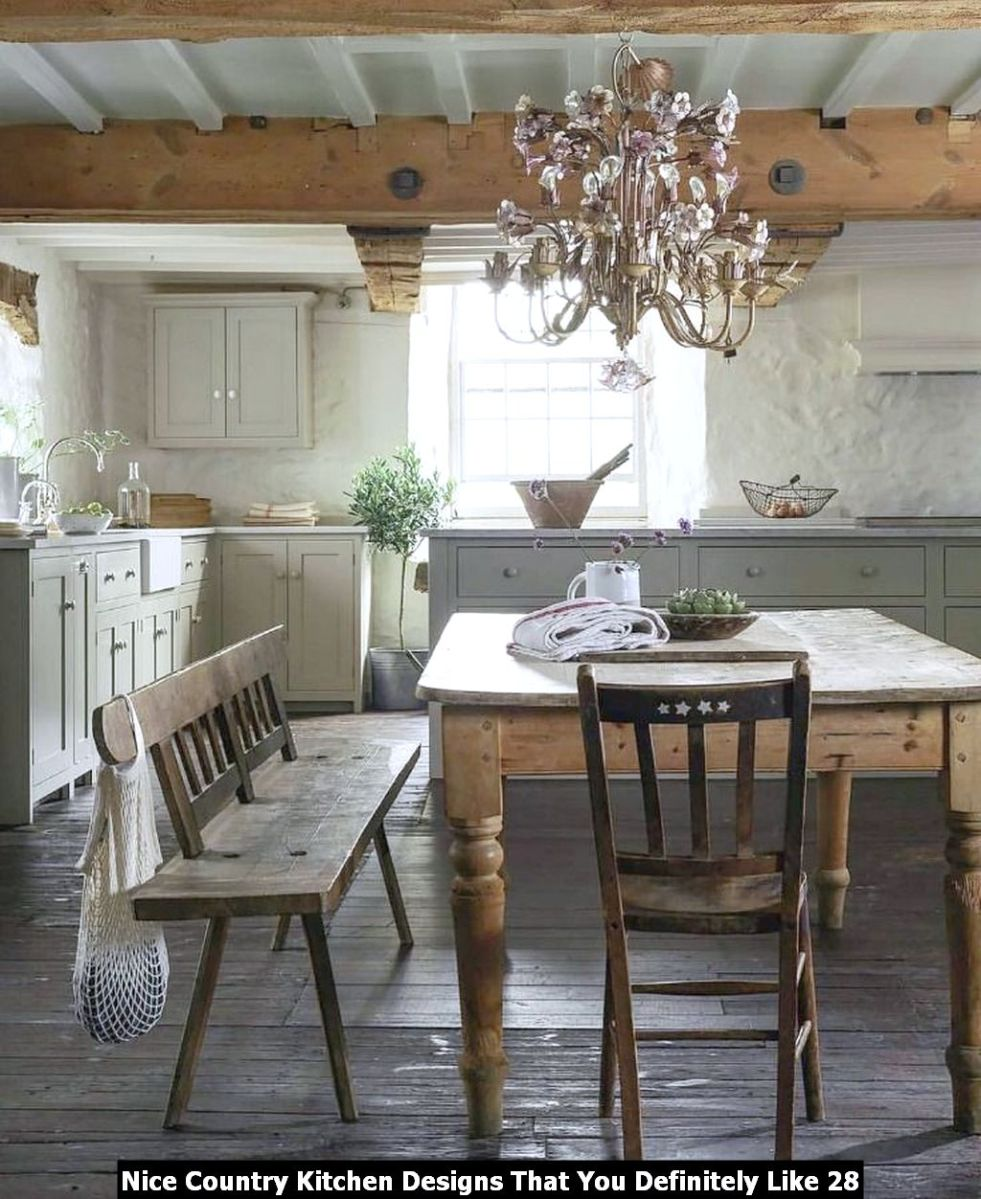 Nice Country Kitchen Designs That You Definitely Like 28