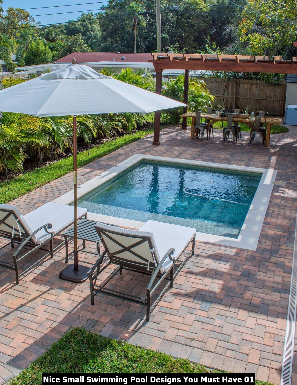 Nice Small Swimming Pool Designs You Must Have 01