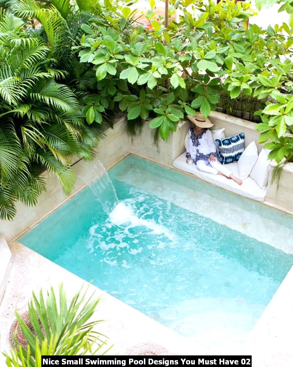 Nice Small Swimming Pool Designs You Must Have 02